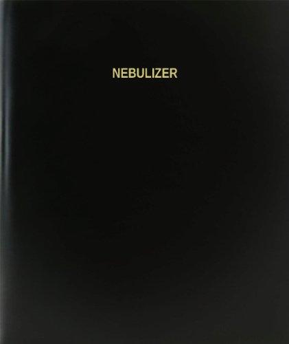 "BookFactory® Nebulizer Log Book / Journal / Logbook - 120 Page, 8.5""x11"", Black Hardbound (XLog-120-7CS-A-L-Black(Nebulizer Log Book))"