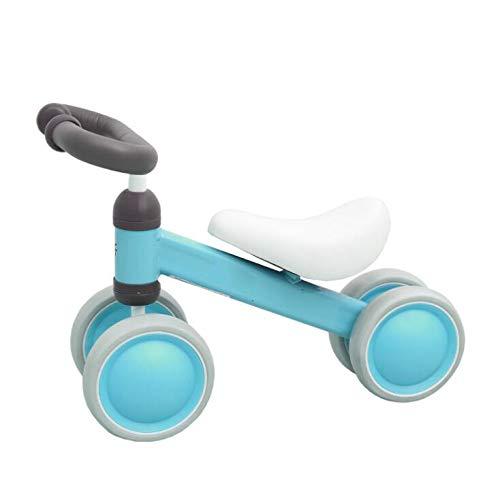 BABIFIS Baby Balance Bike No Pedal Baby Car Camminare Bambini a Quattro Ruote Walker Slide Car Bambini 1-3 Anni Regalo principiante Giocattolo