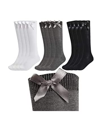 GIRLS KNEE HIGH SCHOOL SOCKS 3 PAIR  SCHOOL UNIFORM ALL SIZES TOP QUALITY