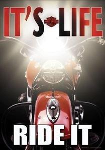 Russ Berrie 644627 Harley-Davidson It s Life, Ride it Garden