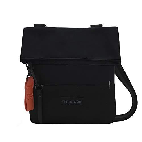 (Sherpani Women's RFID Pica Mini Crossbody Bag Cross Body, Raven, One Size)