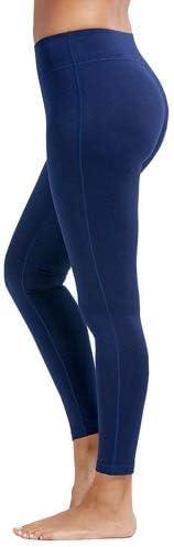 dh Garment Mallas Mujer Fitness Leggins de Cintura Alta con Bolsillos