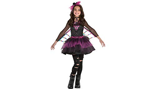 Spider Dress Halloween Costume for Girls, Medium, with Included Accessories, by Amscan