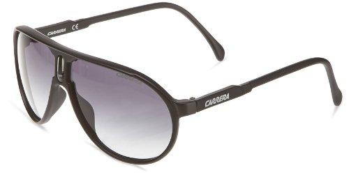 Carrera Champion DL5/JJ Matte Black/Grey Gradient Unisex Aviator - Sunglasses Champion Black Matte Carrera