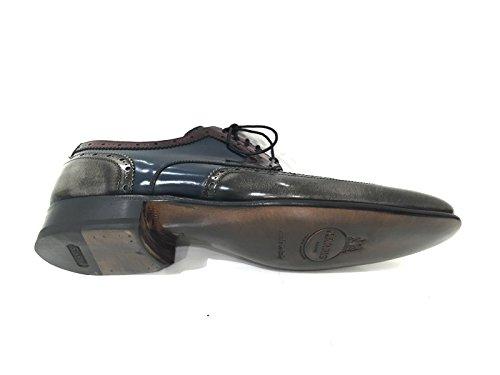 Harris - Zapatos de cordones de Piel para hombre multicolor ROSSO GRIGIO BLU