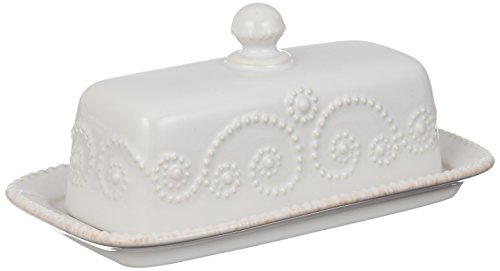 overed Butter Dish, White (7 Inch Covered Butter Dish)