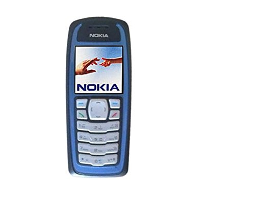 Nokia 3100 Dark Blue/White/Red Unlocked GSM Triband Refurbished Cell (White Triband Phone)