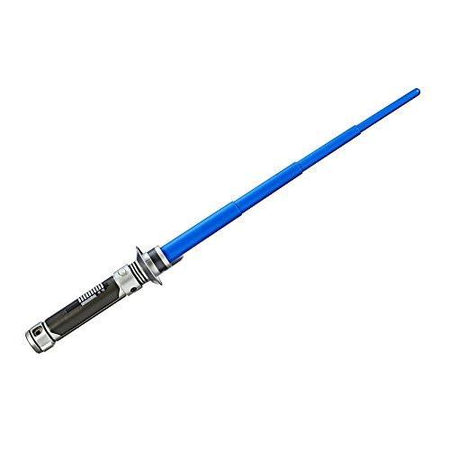 Star Wars-Sabre Laser Retractable Kanan Jarrus Bleu, Boys, C1290, Unique