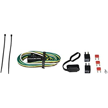 31I0j4lj8eL._SL500_AC_SS350_ amazon com chevy equinox trailer wiring kit automotive 4 Prong Trailer Wiring Diagram at mifinder.co