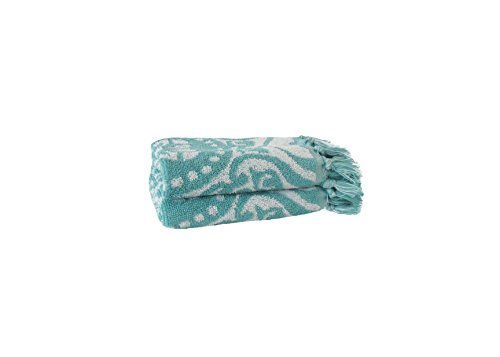 Jessica Simpson Luxurious Jacquard Design Sunita Wash Cloth