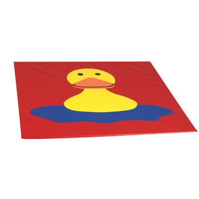 Happy Duck Mat by Children's Factory