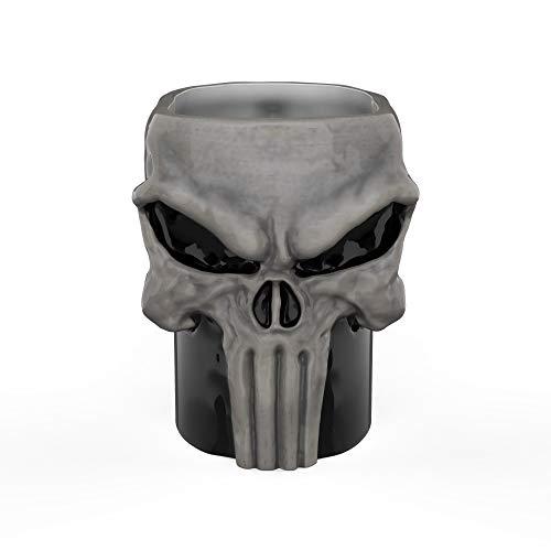 Zak Designs DDTA-1593-C Marvel Comics Coffee Mugs, Sculpted, Punisher