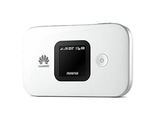 B01BIQL7N8 Huawei E5577s-321 Unlocked 150 Mbps 4G LTE Mobile WiFi Hotspot (4G LTE in Europe, Asia, Middle East, Africa & 3G globally) Unlocked/OEM/ORIGINAL from Huawei WITHOUT CARRIER LOGO (White) 31I0qbJXktL