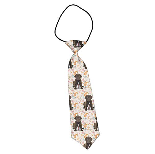 Children Polyester Kids Length Puppy Chocolate Lab Kisses