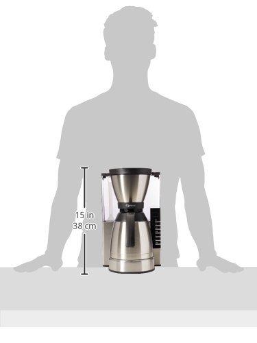 Capresso 498.05 MT900 Rapid Brew Coffee Maker, Stainless Steel by Capresso (Image #1)