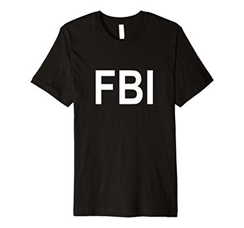 Men's FBI T Shirt 2XL Black