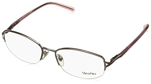 yeglasses Styles Light Pink Frame w/Non-Rx 53 mm Diameter Lenses, 299-5317, ()