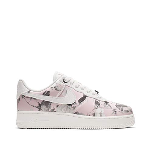 buy popular 02cfe 50670 Nike Women s Air Force 1  07 LXX White Pink-Floral AO1017-102 (Size  9)
