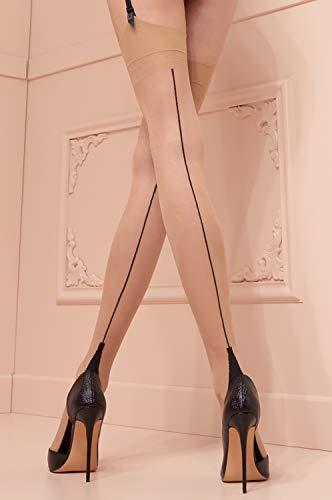 3813fb6348e Jual Trasparenze Fully Fashioned Stockings - Cuban Heel RHT – made ...