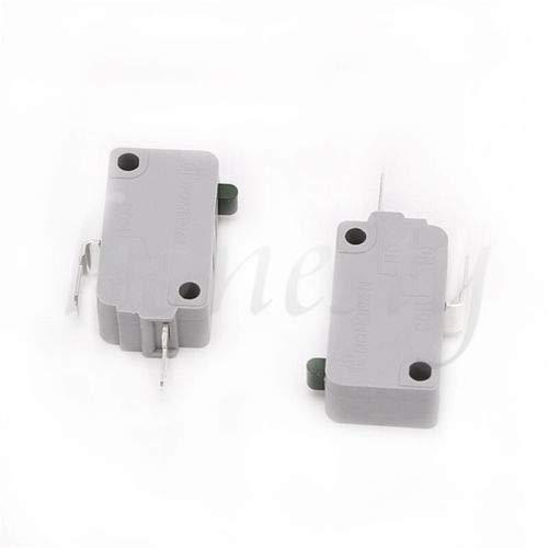 2PCS Microwave Oven KW3A-16Z0 Door Micro Switch 250V 16A Normally Close Tool CaandShop TM
