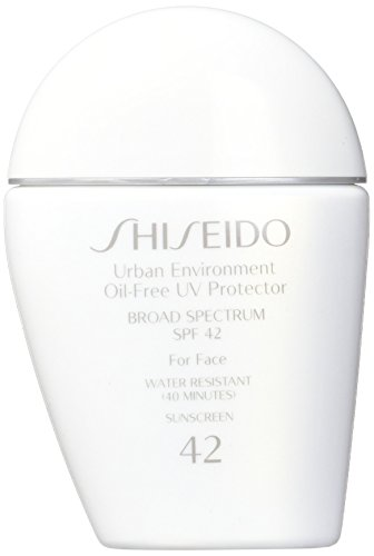 Shiseido Urban Environment Oil-free UV Protector SPF 42 Broad Spectrum for Face, 1 Ounce by Shiseido