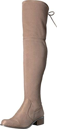 CHARLES BY CHARLES DAVID Womens Owen Almond Toe Over Knee Fashion, Tan, Size 5.5