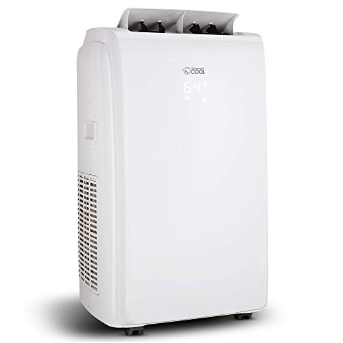Commercial Cool 12,000 BTU Portable Air Conditioner with Heat- Multifunction 4 in 1 Air Conditioner - 24 Hour Timer Remote Control Air Conditioner - Modern Portable Air Conditioner, CPT12HW6