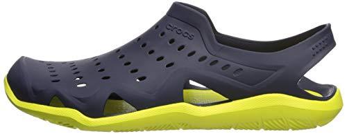 Crocs Men's Swiftwater Wave M Water Shoe Navy/Citrus 4 M US by Crocs (Image #5)