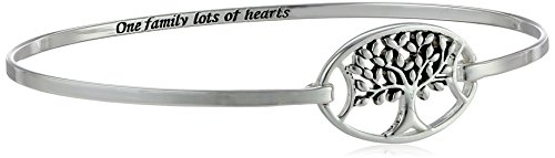 Sterling Silver Family Hearts Bracelet product image
