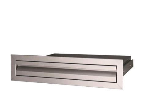 (RCS Gas Grills VDU1 Valiant Stainless Steel Accessory and Tool Drawer)