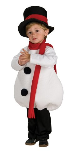 Snowman Toddler Costumes (Rubies Baby Snowman Children's Costume, Toddler)