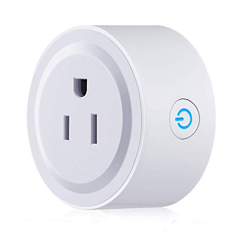 WiFi Smart Plug/Power Socket/Outlet Works With Amazon Echo Alexa and Google Home Voice Control Smart Home Wireless Controls Timing Smart Socket/Plug/Outlet -
