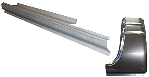 Motor City Sheet Metal -Works With 1994-02 Dodge Ram Standard Cab Rocker Panel And Cab Corner Driver Side