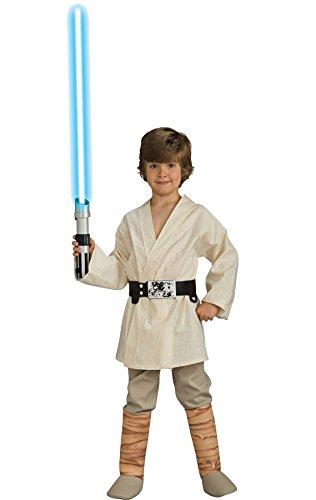 Ultimate Halloween Costume UHC Boy's Luke Skywalker Deluxe Kids Child Fancy Dress Party Halloween Costume, S (Deluxe Luke Skywalker Costume)