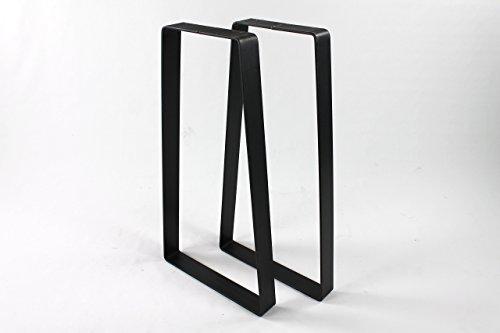 Heavy Duty Steel Trapezoid Sofa Table Legs 10