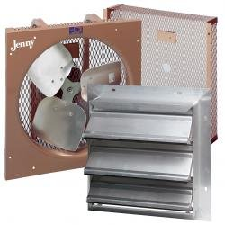 16 Inch Fan 1/4Hp W/Back Guard by JENNY PRODUCTS INC