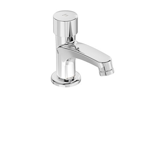Symmons Metering Faucet (Symmons SCOT Metering Push Button Single Hole Bathroom Faucet, Chrome (SLS-7000))