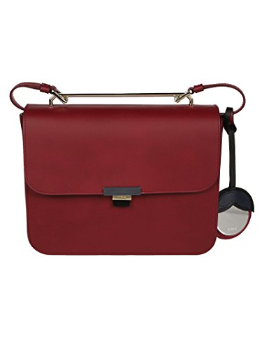 Furla Ladies 920917 Tracolla In Pelle Rossa