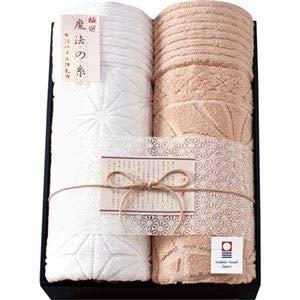 極選 魔法の糸今治製パイル綿毛布2P B2028548 B3170037 B07NJM1ZBS