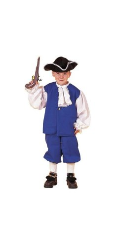 Colonial Boy Costume - Child Costume - Large (12-14)
