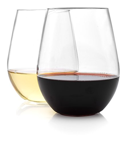 WineTools 20 Ounce Unbreakable Stemless Glasses product image