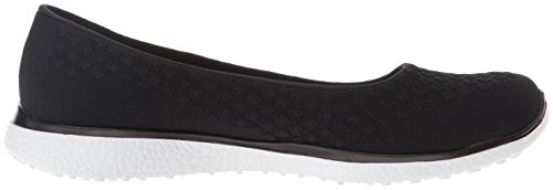 Skechers Sport Damen Microburst One up Fashion Sneaker Schwarz-Weiss