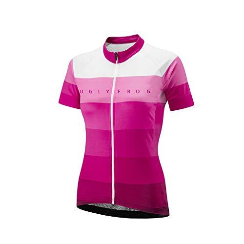 Uglyfrog Women Cycling Jersey Short Sleeve Breathable Biking Shirt