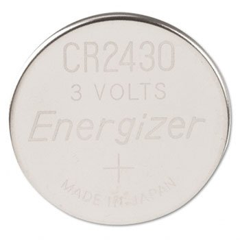 20 Pack Energizer ECR2430BP Lithium 3-Volt Coin Cell Battery by EVERDY