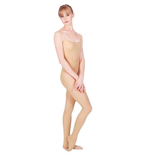 Adult Body Tights,N236LSNML,Light (Flesh Colored Bodysuit)