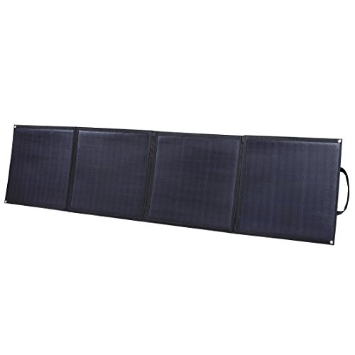 Lensun 160W (4 x 40W) 12V Flexible Folding Solar Panel with MC4 Connector,Ideal for Camping Van,RVS,Motorhomes,Caravan