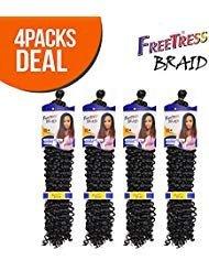 (Synthetic Hair Braids FreeTress Water Wave Bulk 22