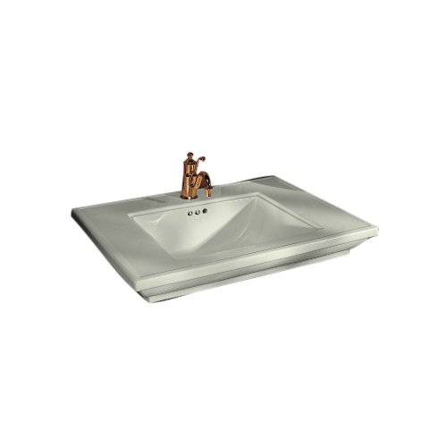 KOHLER K-2269-8-NG Memoirs Bathroom Sink with Stately Design and 8 Centers Tea Green