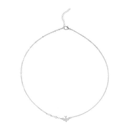 Pearl Dove Necklace - 8