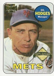 2002 Topps Archive Card (2002 Topps Archives Baseball Card #177 Gil Hodges Near Mint/Mint)